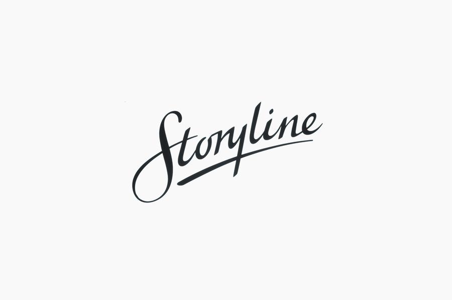 Logotype by Work In Progress for Storyline Studios