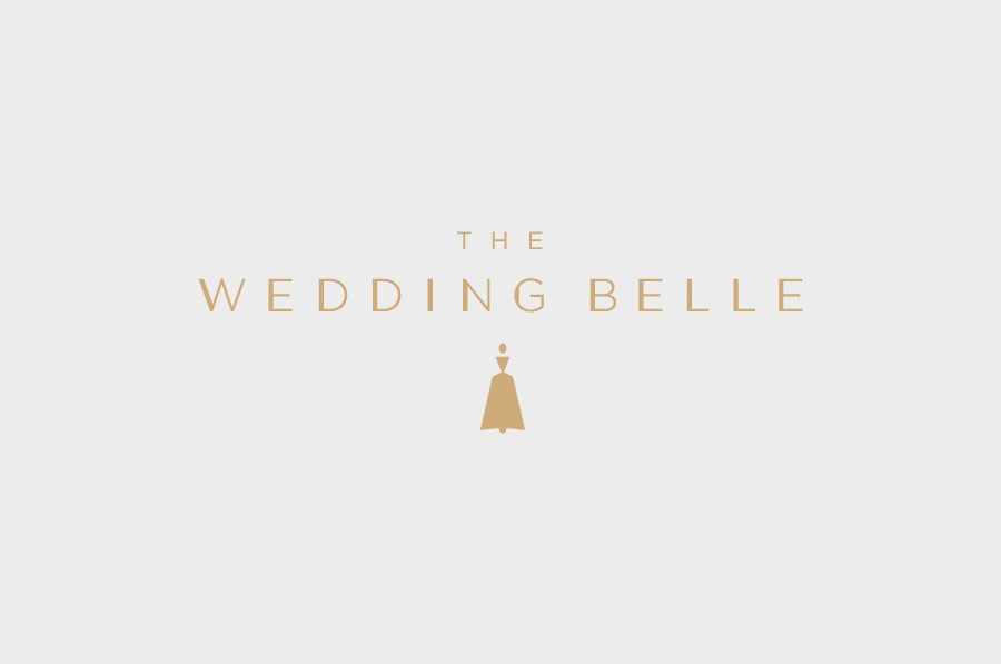 Logo designed by Ghost for wedding planner The Wedding Belle