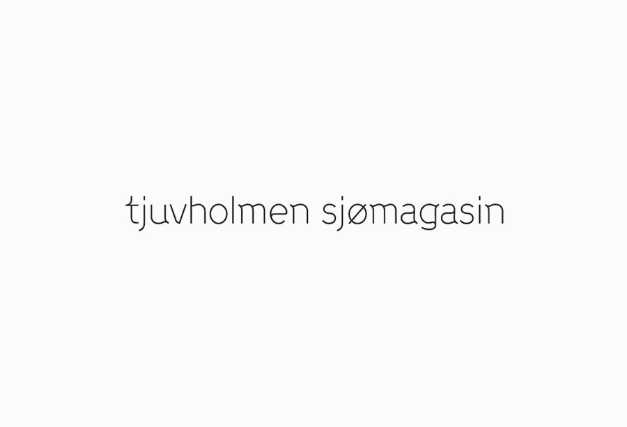 Logotype designed by Work In Progress for Norwegian seafood restaurant Tjuvholmen Sjømagasin