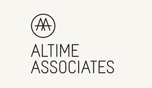 Logo design by Fiftree for French consulting and management firm Altime Associates