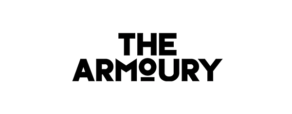 Logotype design and collateral by Purpose for London pub The Armoury