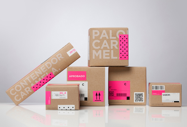 Caramela - Packaging and branding by Anagrama