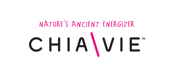 Logo designed by Miller Creative for fruit and chia seed smoothie brand ChiaVie