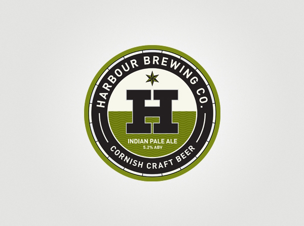 Harbour Brewing Co. - Branding and packaging design by A-Side Studio