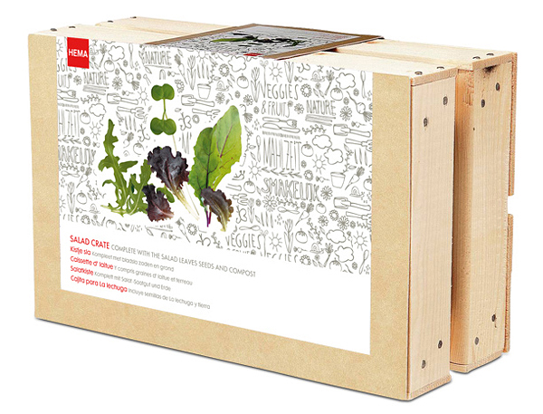 New Packaging for HEMA Grow Your Own by Studio Kluif