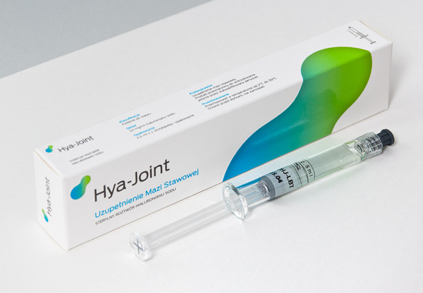 Packaging and rebranding for osteoarthritis pain relief product Hya-Joint designed by Artentiko