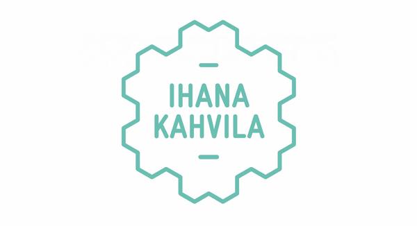 Logo design by Werklig for freight container coffee shop Ihana Kahvila