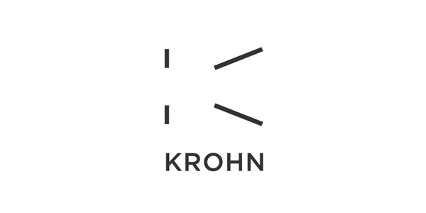 Krohn - Logo and branding designed by Commando Group