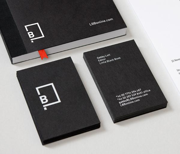 Little Black Book designed by Berg