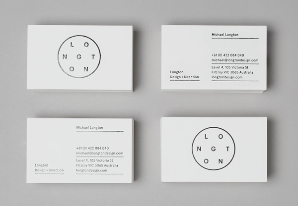 Logo and business card design by Longton