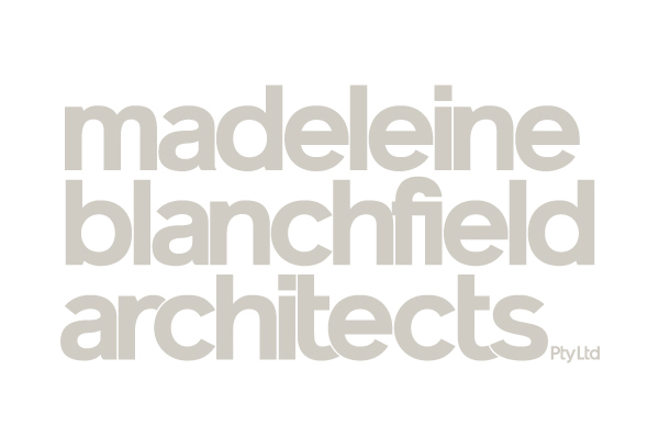 Logo for Madeleine Blanchfield Architects designed by A Friend Of Mine