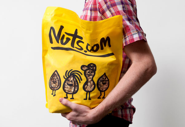 Nuts.com - Packaging and branding by Pentagram