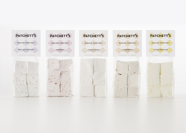 Patchett's - Packaging and branding by Designers Anonymous