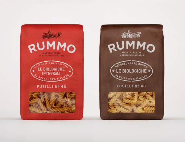 Rummo - Packaging and branding designed by Irving & Co.
