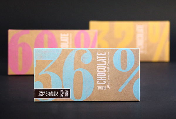San Churro's Chocolate designed by Studio Alto