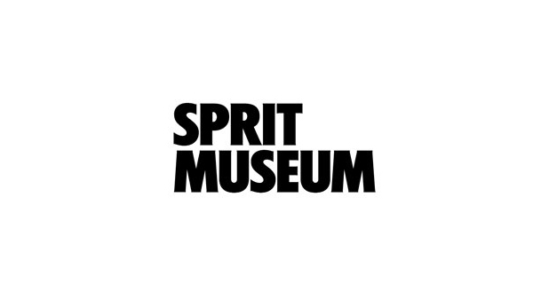 Logo designed by Stockholm Design Lab for spirit themed art gallery, museum, tasting room and bar Spritmuseum