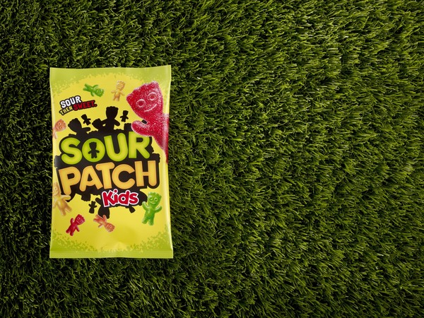 Packaging design for confectionery brand Sour Patch Kids led by Landor's creative director Dale Doyle