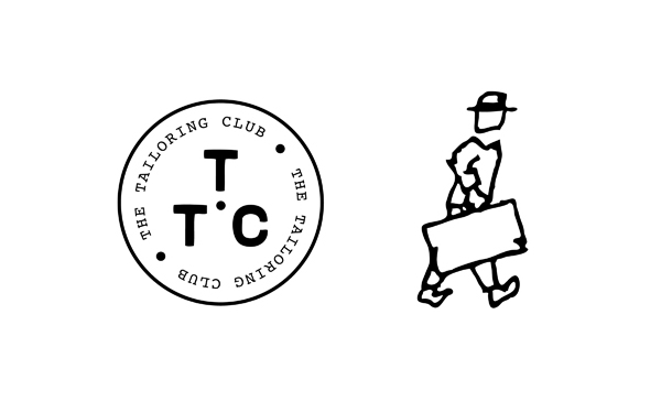 Logos designed by London based creative agency Saturday for American styled clothing brand The Tailoring Club