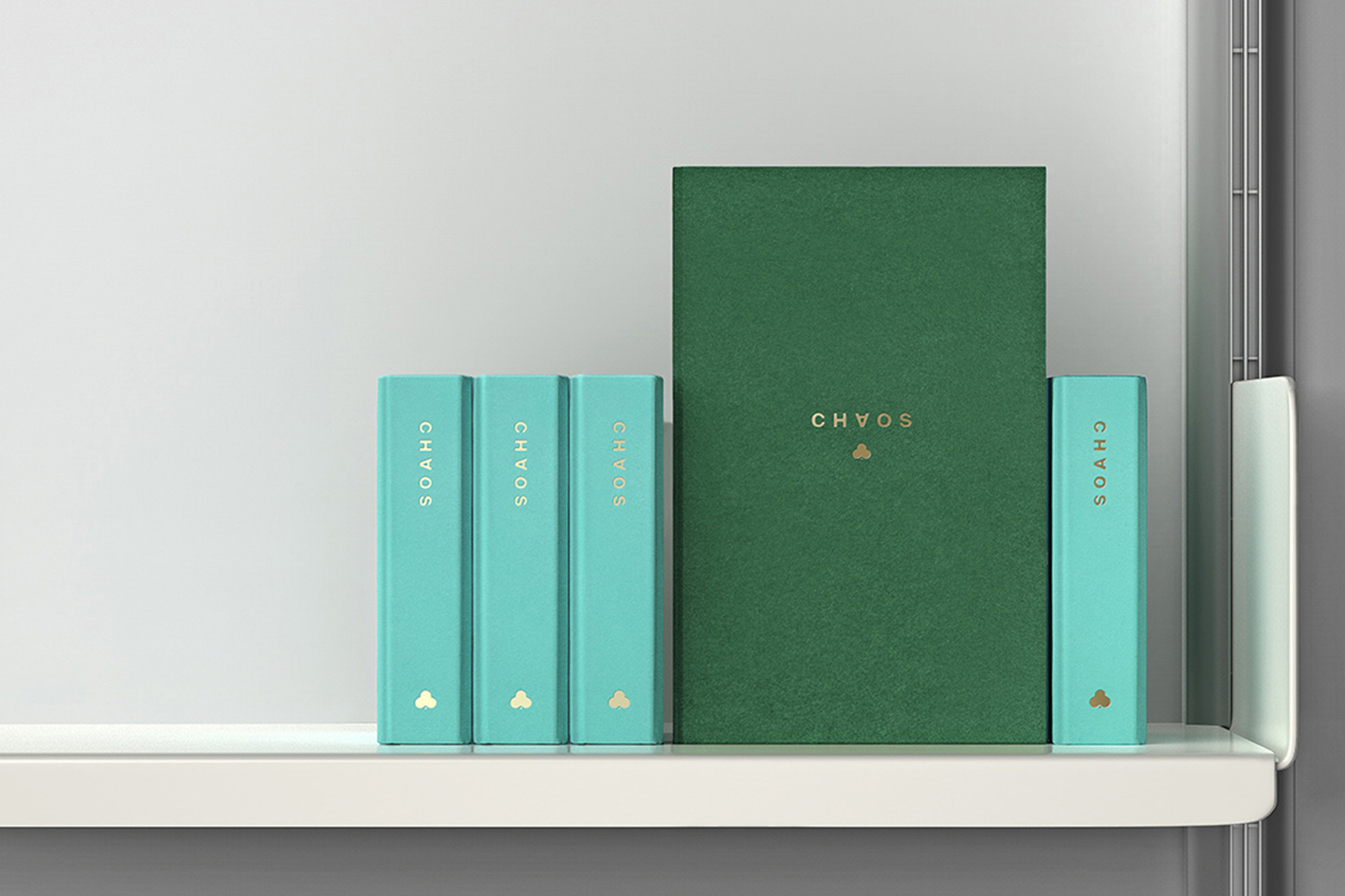 Luxury lifestyle accessory packaging design featuring Colorplan papers and boards by Socio Design for Chaos