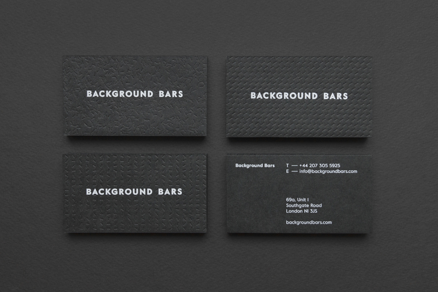 Black & White Branding – Background Bars by Campbell Hay, United Kingdom