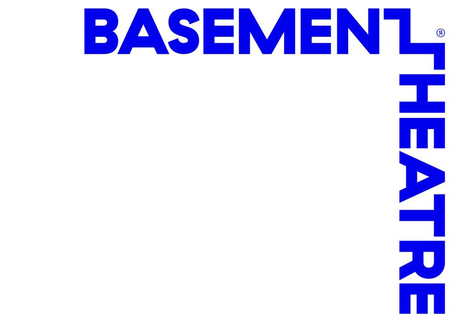 Wordmark for Basement Theatre by graphic design agency Studio Alexander