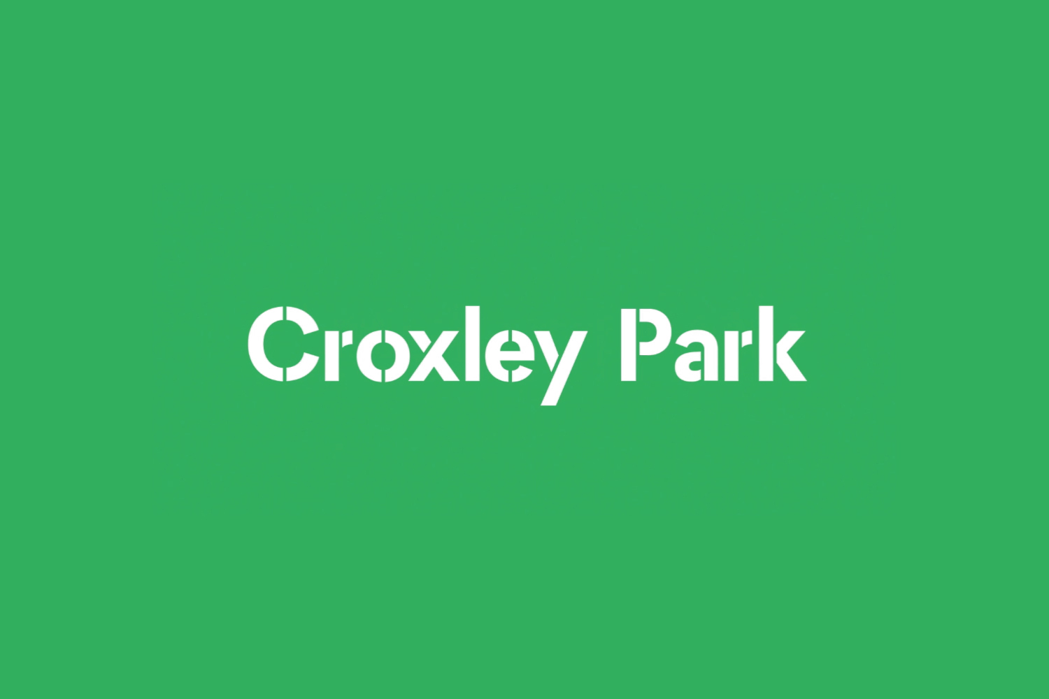 Wordmark by Blast for UK business park Croxley Park