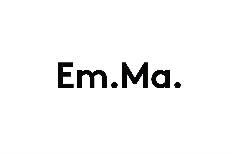 Monogram for Emma Magnusson Arkitektur by Lundgren+Lindqvist, Sweden