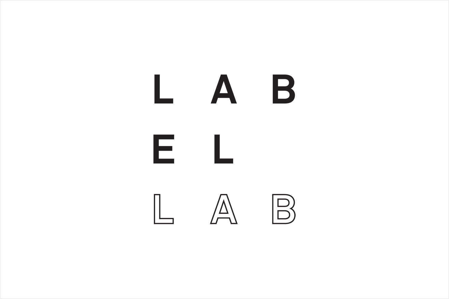 Logo, invitation and programme by TM for Label Lab, The Forum for Label and Packaging Innovation, hosted by Arconvert.