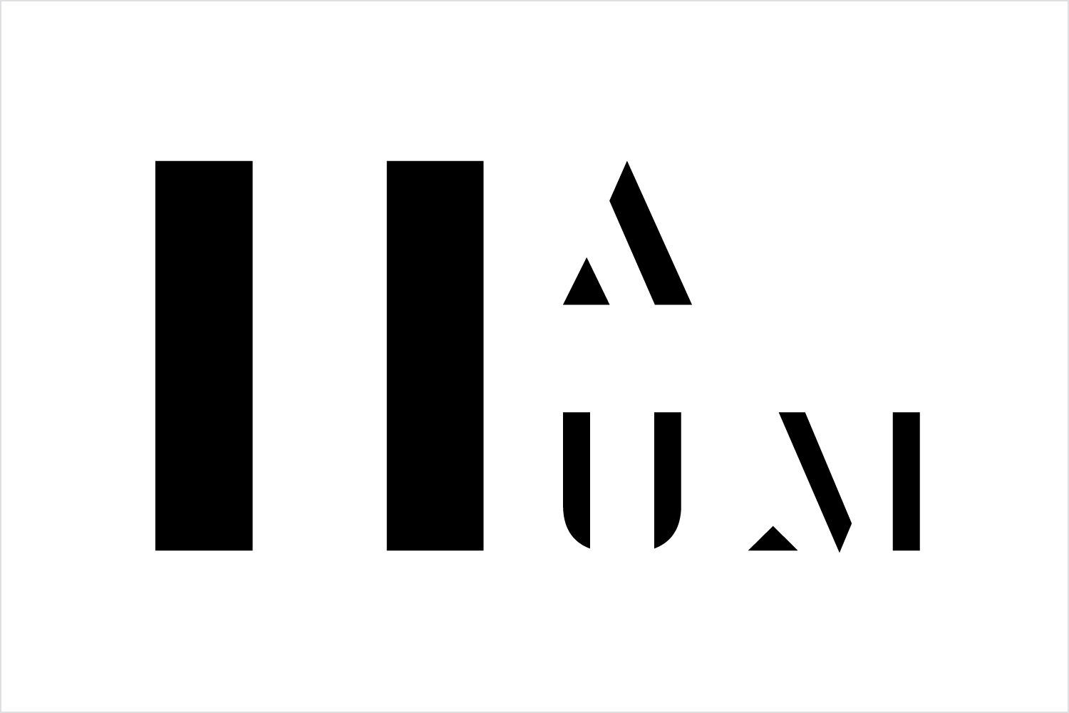 Logo by Bond for Heritage: A User's Manual, an exhibition in London's Southbank Centre