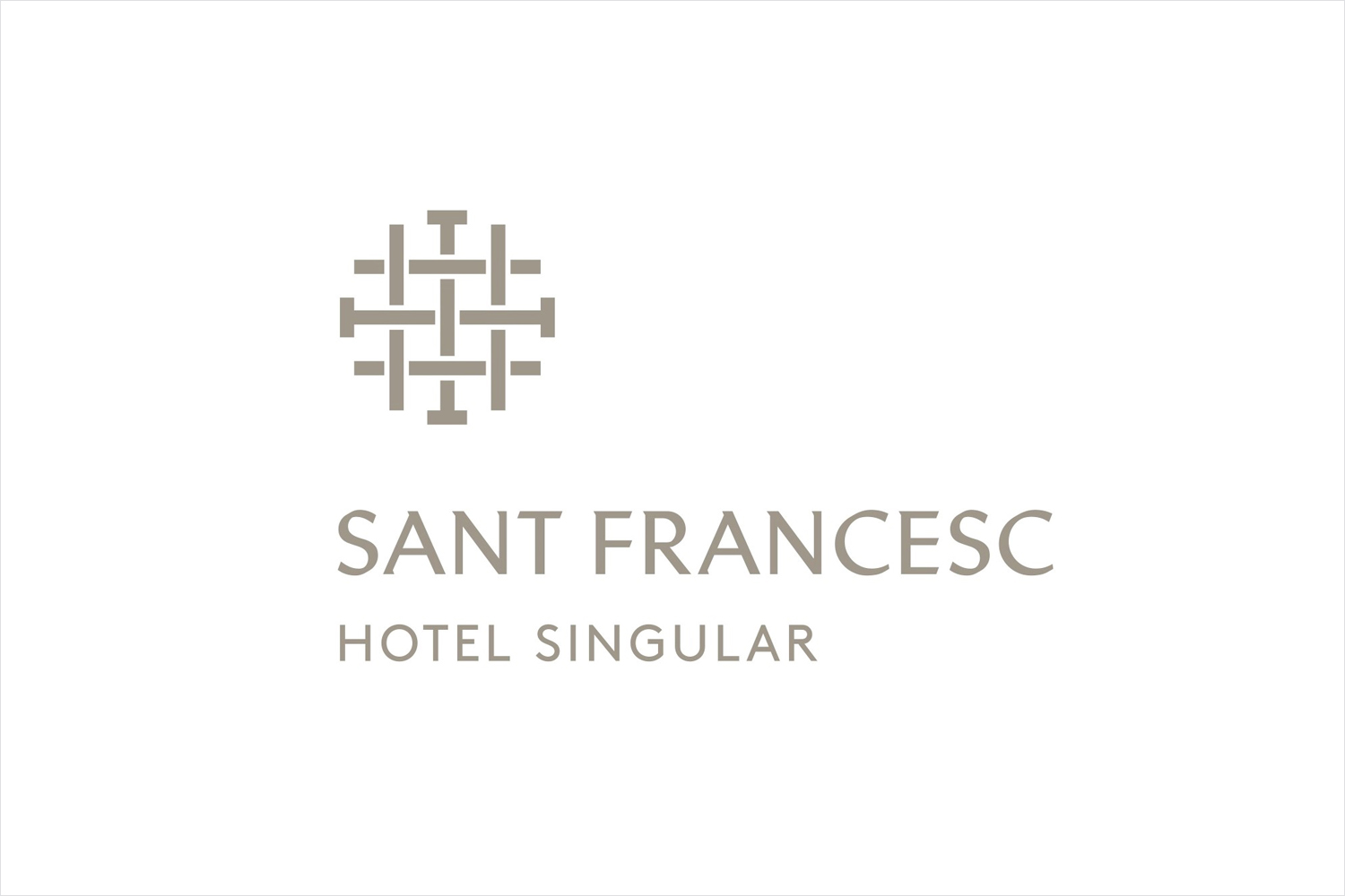 Logo designed by Mucho for Spanish 5-star hotel Sant Francesc.