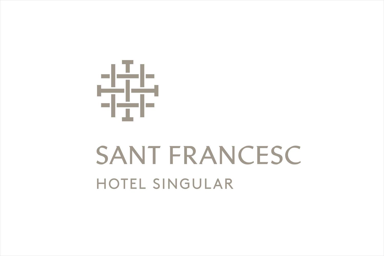 Logo designed by Mucho for Spanish 5-star hotel Sant Francesc.