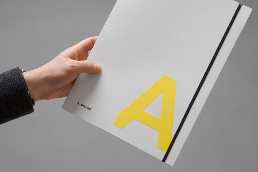 Branding by Norwegian graphic design studio Bielke&Yang for engineering consultancy K Apeland