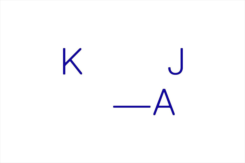 Logotype designed by Snøhetta for Oslo-based Kristin Jarmund Architects.