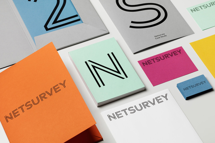 Branding for Stockholm based Netsurvey by The Studio