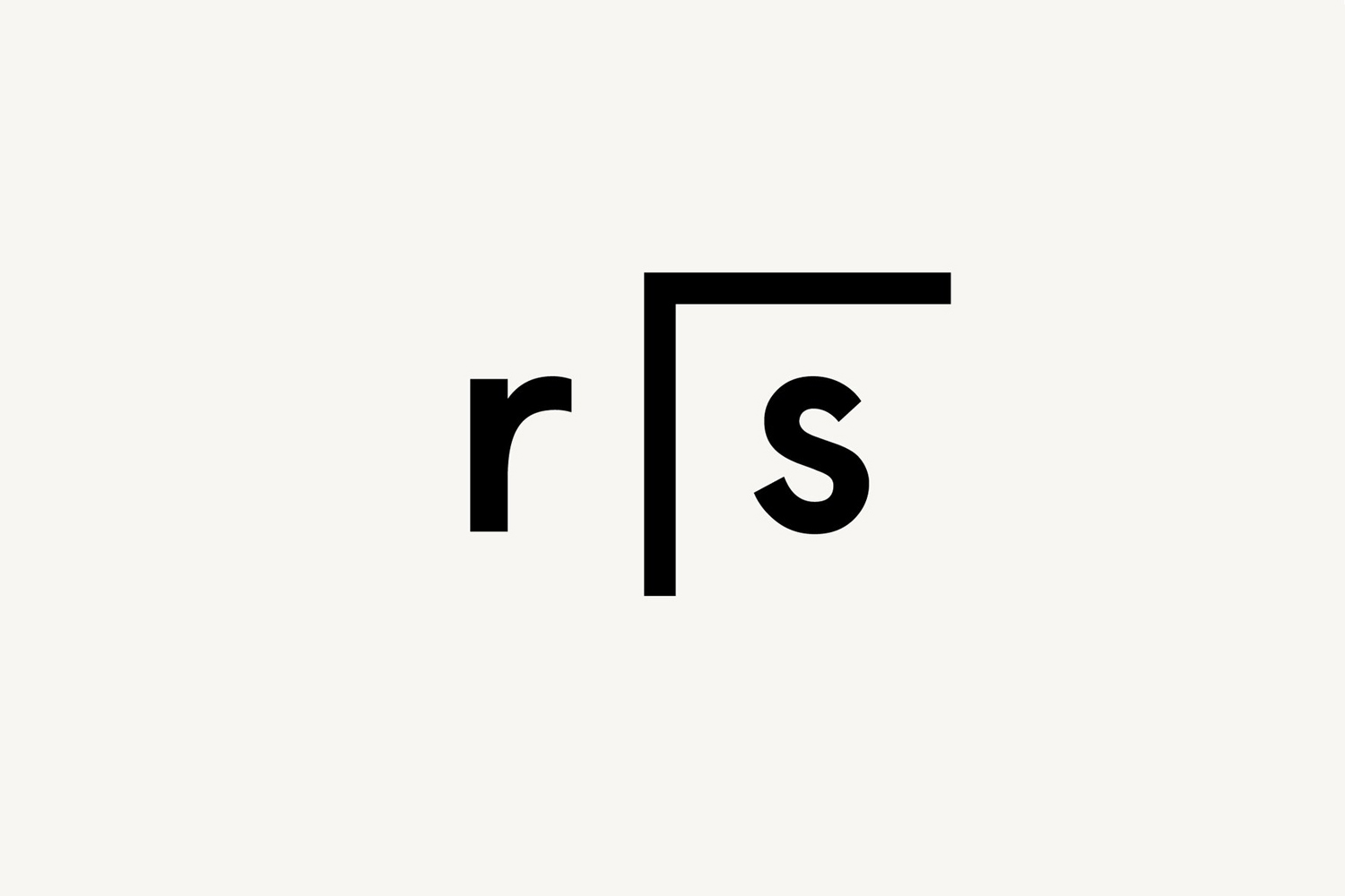 Monogram for Researchers In Schools by graphic design studio Paul Belford Ltd., UK
