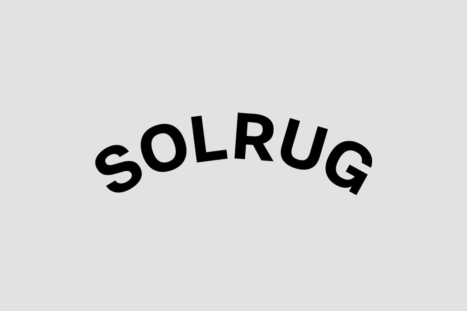 Logotype for Solrug by Bielke & Yang, Norway