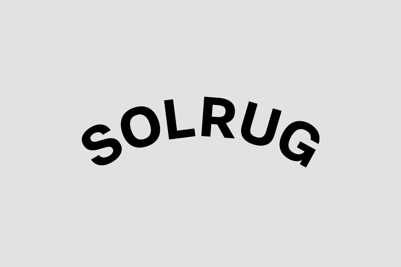 Logotype for Solrug by Bielke & Yang, Norway