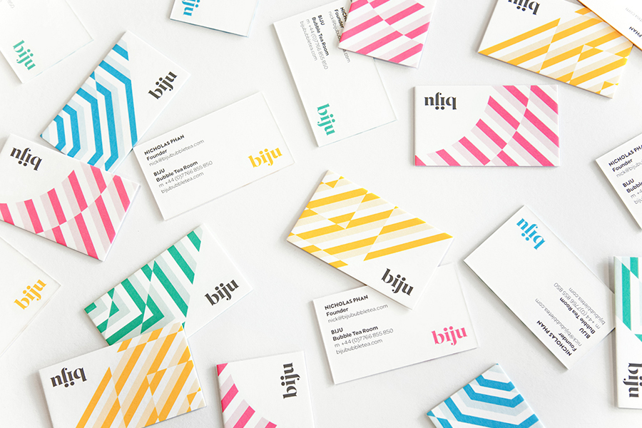 Business cards for Biju designed by ico