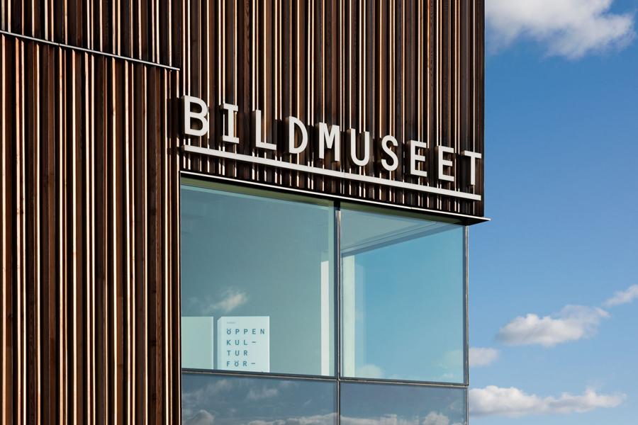 Art Gallery & Exhibition Branding – Bildmuseet by Stockholm Design Lab