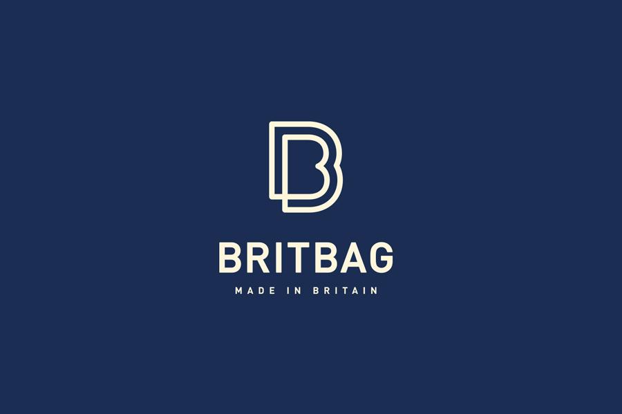 Logo for bag and box manufacturer BritBag designed by Salad