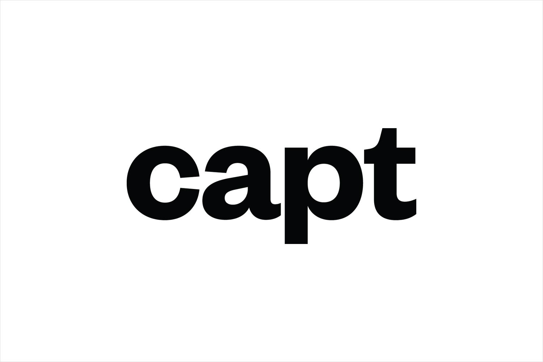 Logotype designed by Bunch for video making app and web-based market platform Capt