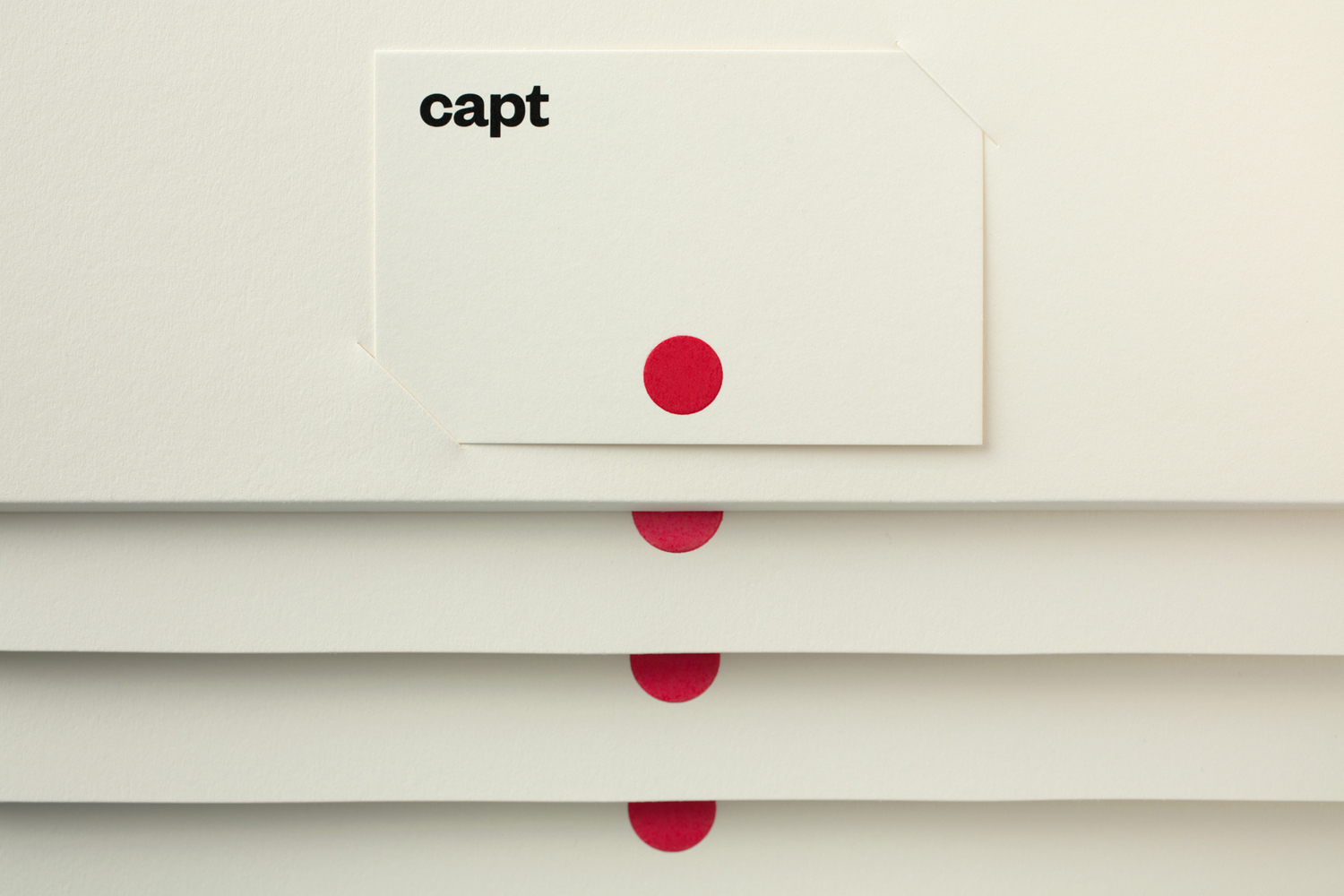 Brand Identity and stationery designed by Bunch for video making app and web-based market platform Capt