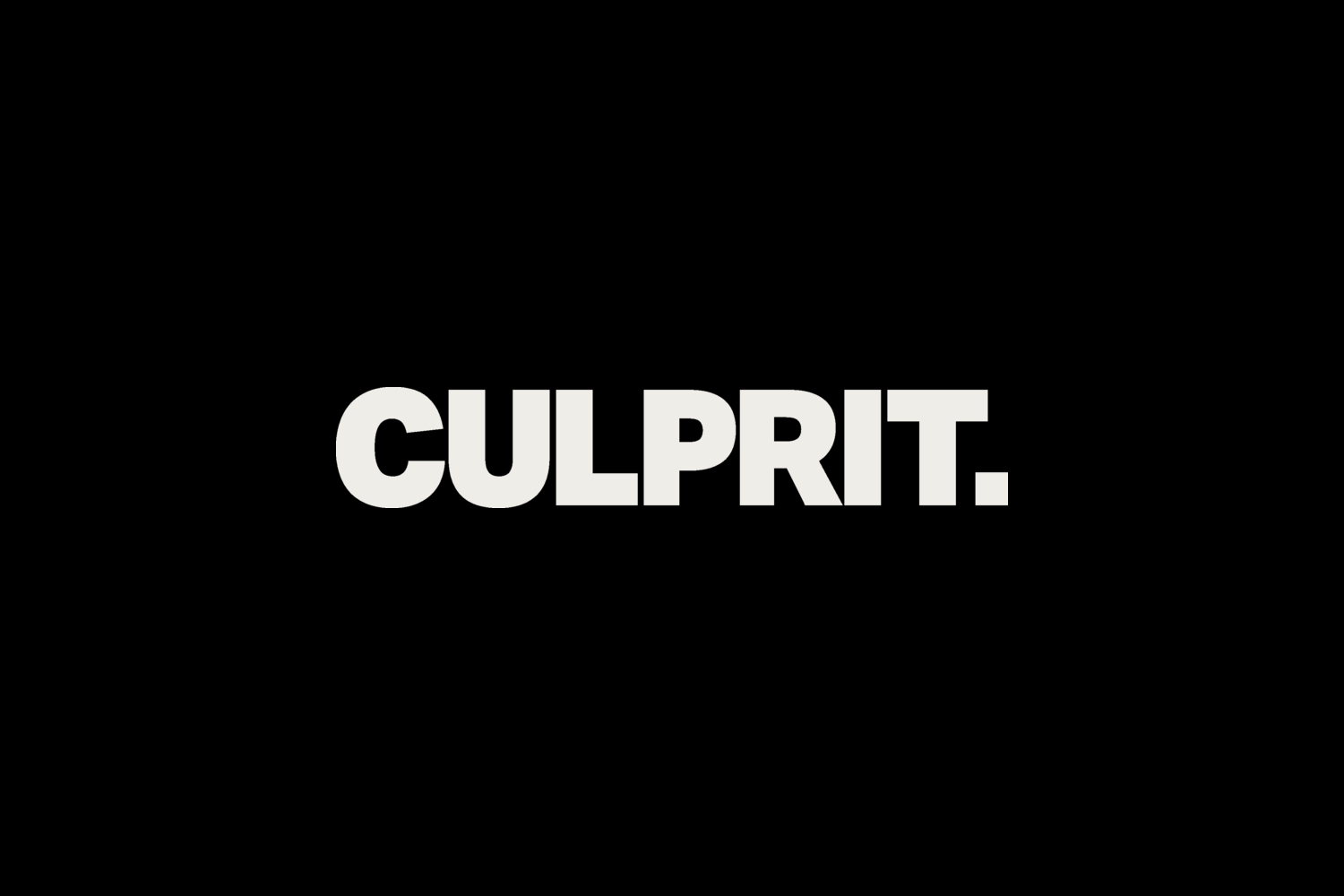 Logotype by Studio South for Auckland bar and restaurant Culprit