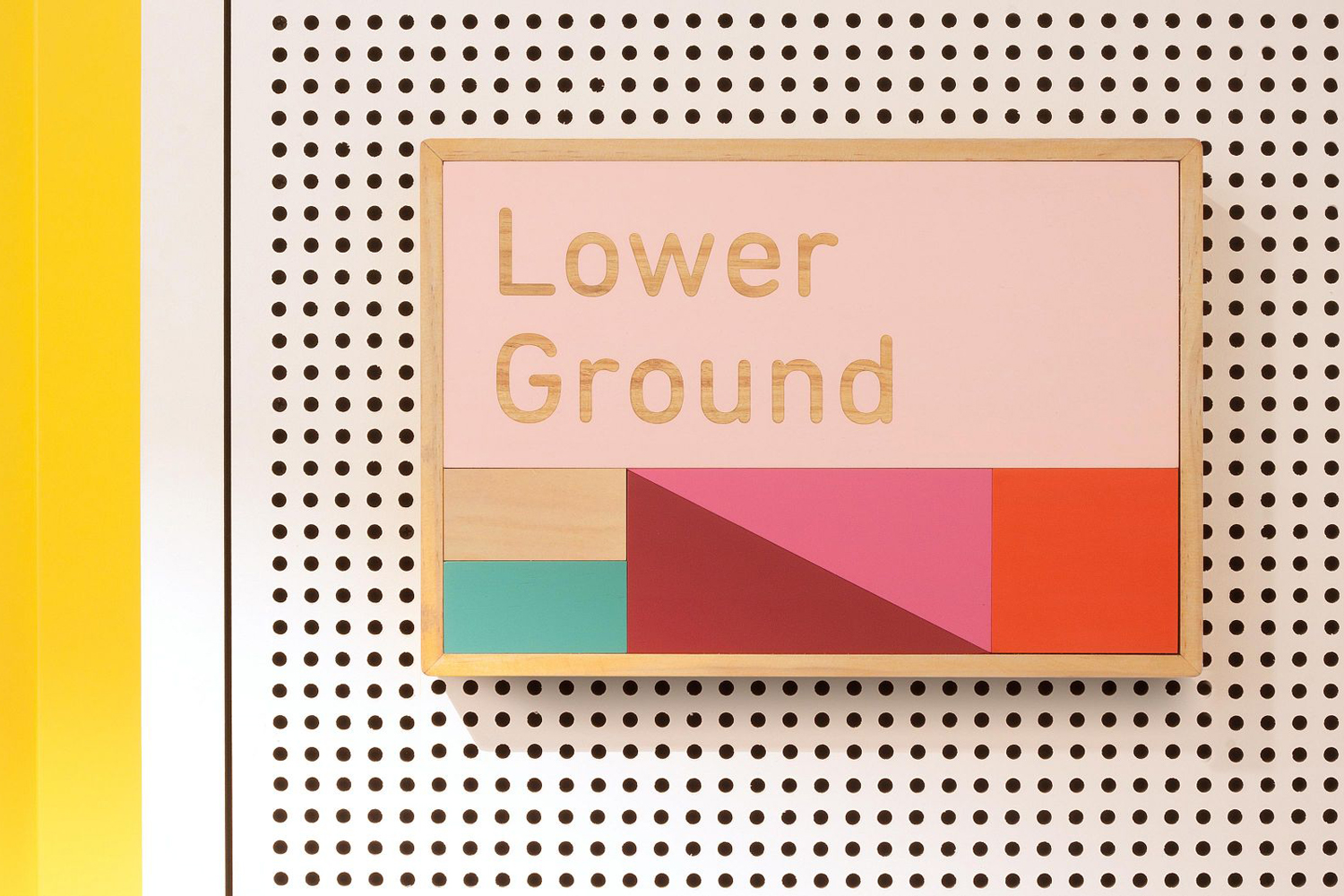 Signage and wayfinding designed by graphic design studio Toko for East Sydney Early Learning & Community Centre