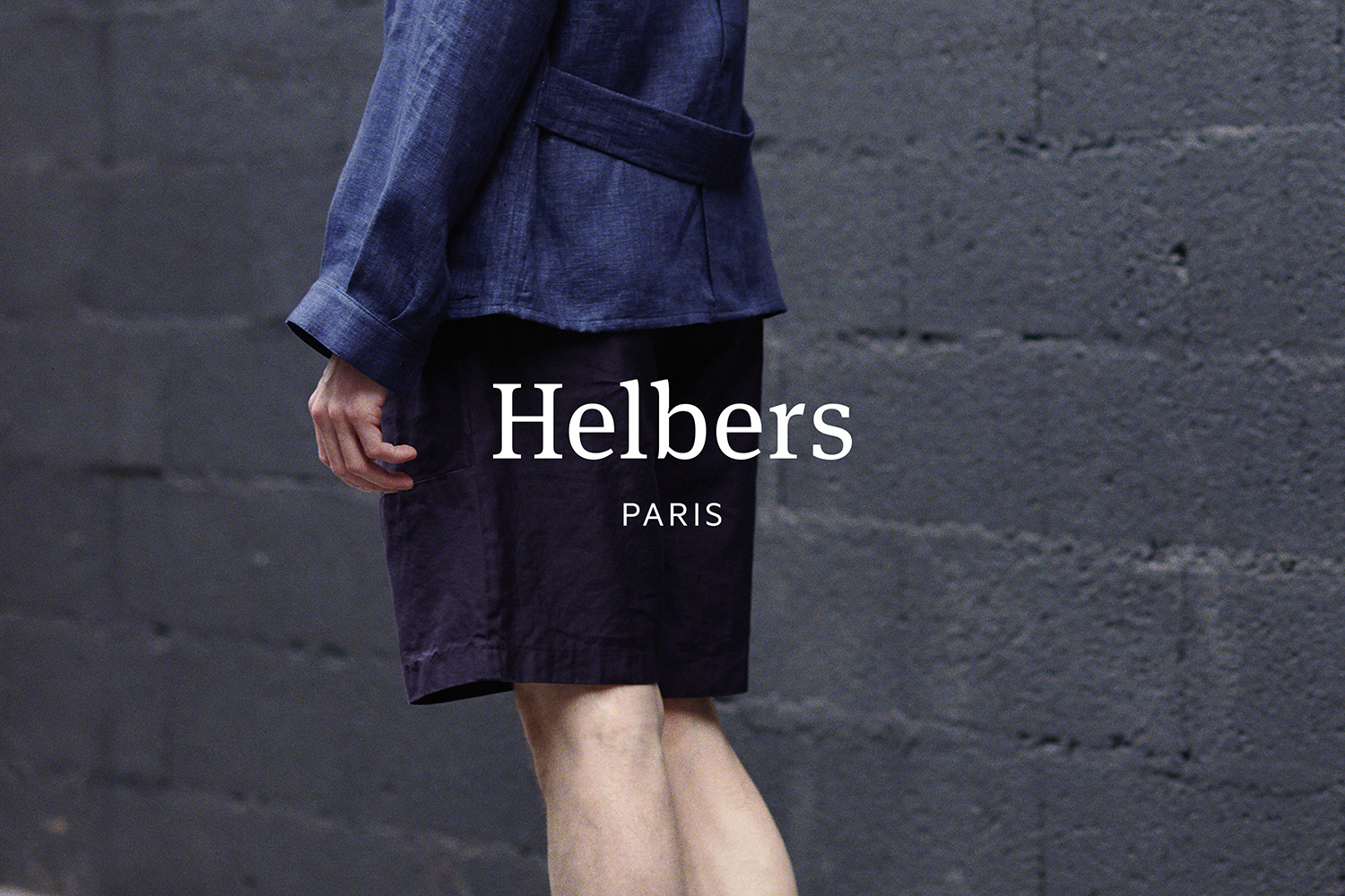 Logotype by Leeds-based graphic design studio Only for Parisian menswear label Helbers