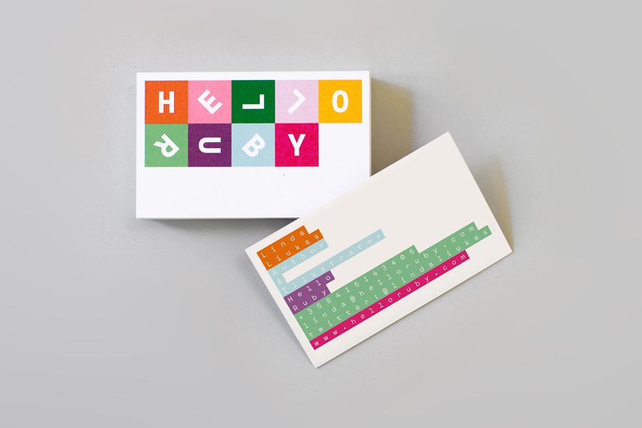 Branding for Hello Ruby by graphic design studio Kokoro & Moi