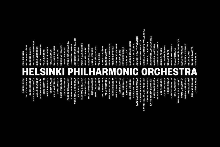 Branding for Helsinki Philharmonic Orchestra by Bond, Finland