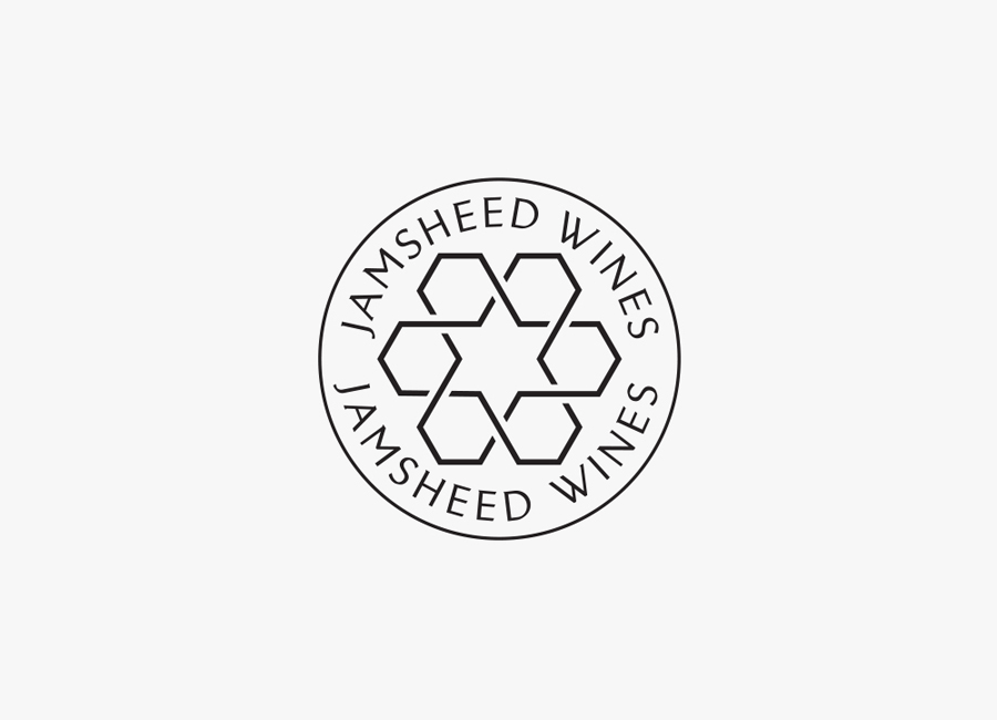 Logo design by Cloudy Co. for Yarra Valley boutique wine label Jamsheed
