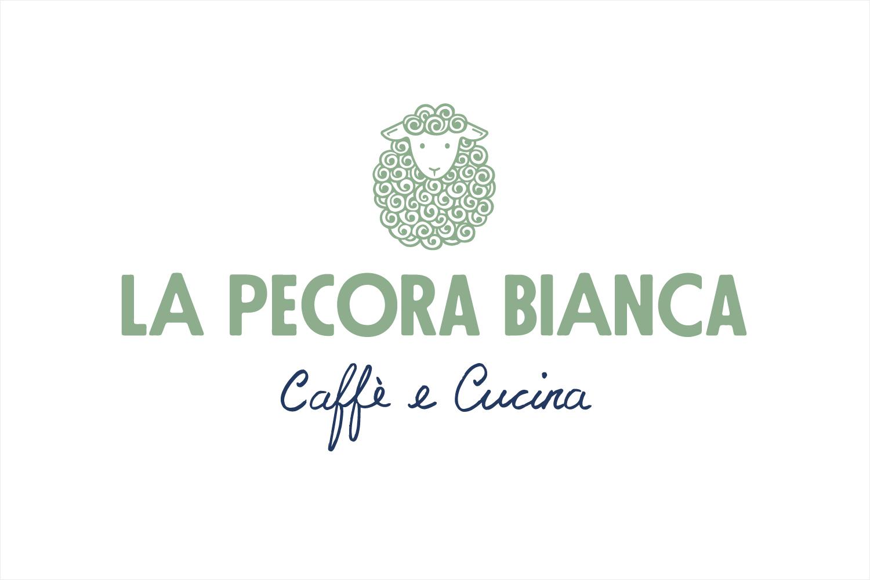 Brand identity for La Pecora Bianca by Pentagram, United States