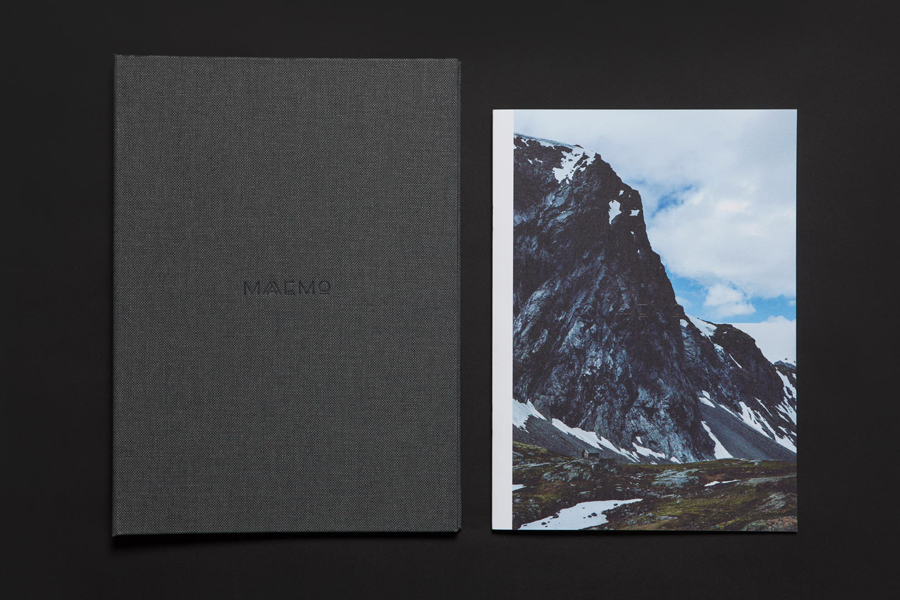 Branding by graphic design studio Bielke&Yang for Norwegian two Michelin starred restaurant Maaemo